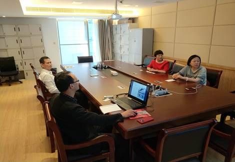 新疆亚欧国际物资交易中心董事长一行 访